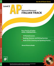 AP Italian Track - Level 2 w/audio CD