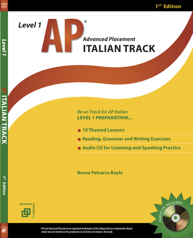 AP Italian Track - Level 1 w/audio CD